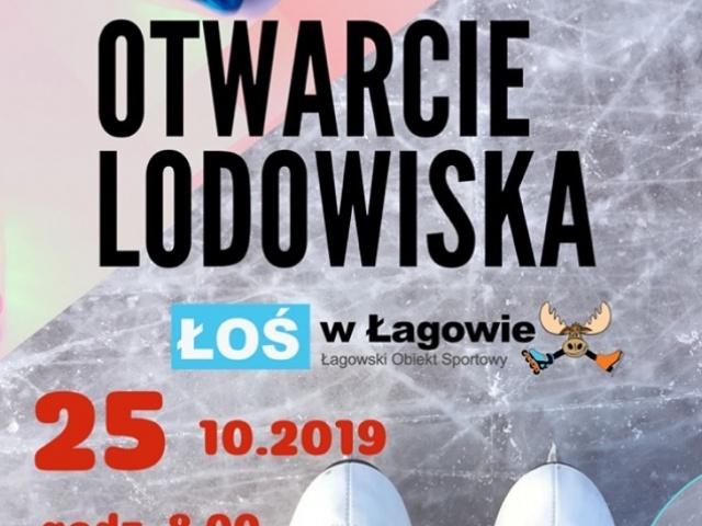 Rozpoczęcie sezonu na lodowisku ŁOŚ w Łagowie